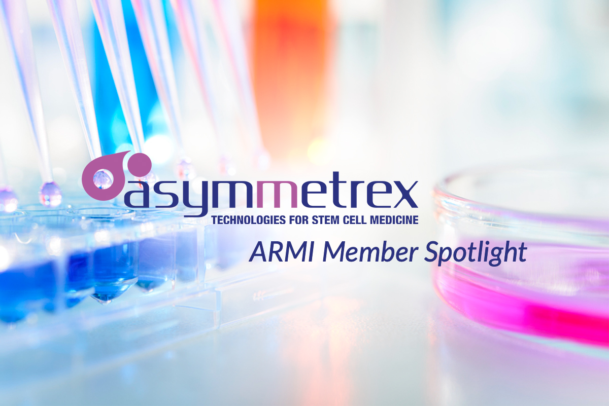 Advanced Regenerative Manufacturing Institute Highlights New Partnership with Asymmetrex
