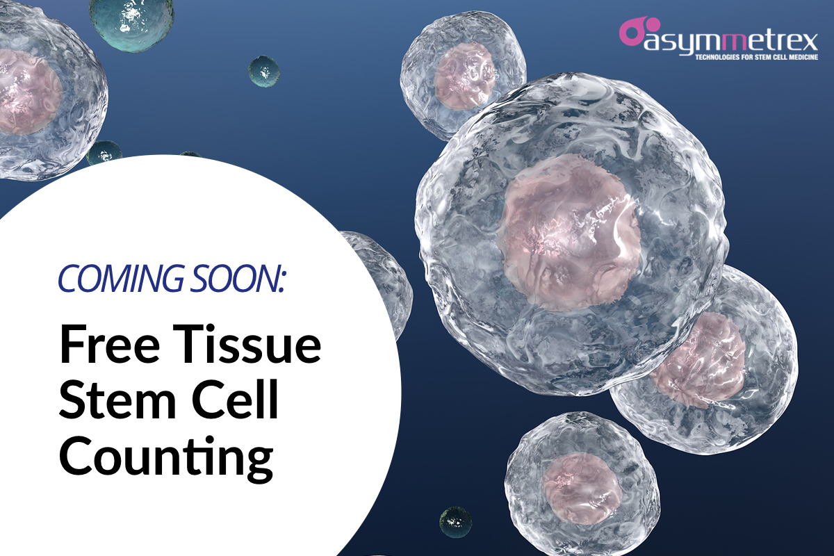 Asymmetrex Announces Plans to Provide Free Tissue Stem Cell Counting