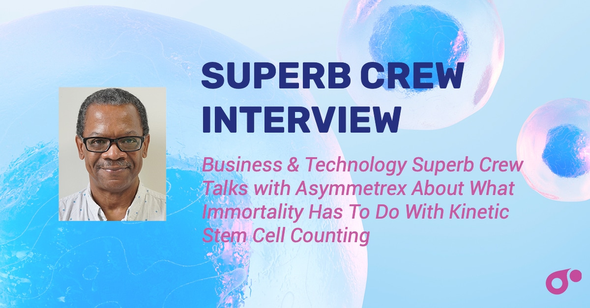 Director James Sherley Interview with Superb Crew- Immortality and Stem Cells